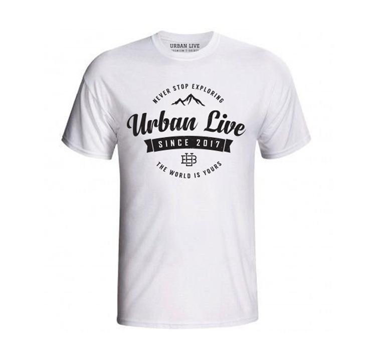 Camiseta Urban Live - Never Stop
