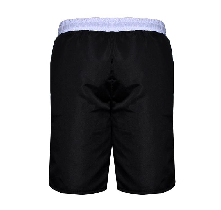Bermuda Hyde - Nylon Two Black - Costas Preta